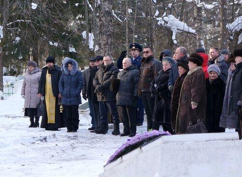 Торжественный митинг, посвященный Дню защитника Отечества