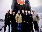 Вологодские художники на подводной лодке Вологда. 1998 г..JPG