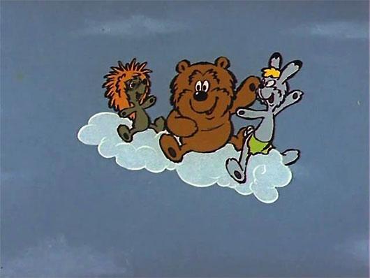 Облака - белогривые лошадки. Песни из мультфильмов.
