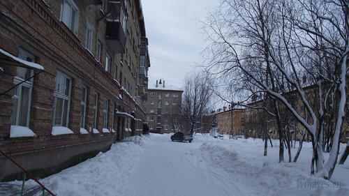 Фото города Инта №2732  Гагарина 13, 11, 7 и 5 31.01.2013_13:12