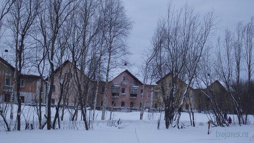 Фото города Инта №2821  Коммунистическая 9, 8 и 7 31.01.2013_13:30