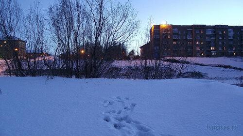Фото города Инта №3291  Полярная 8 и 10 04.02.2013_16:28