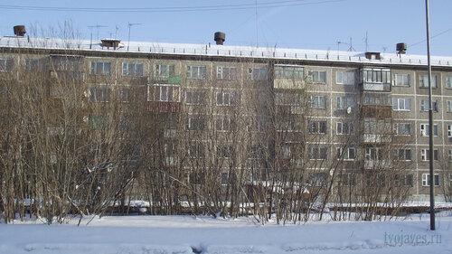 Фото города Инта №3678  Средняя часть западной стороны Мира 32 19.02.2013_12:24
