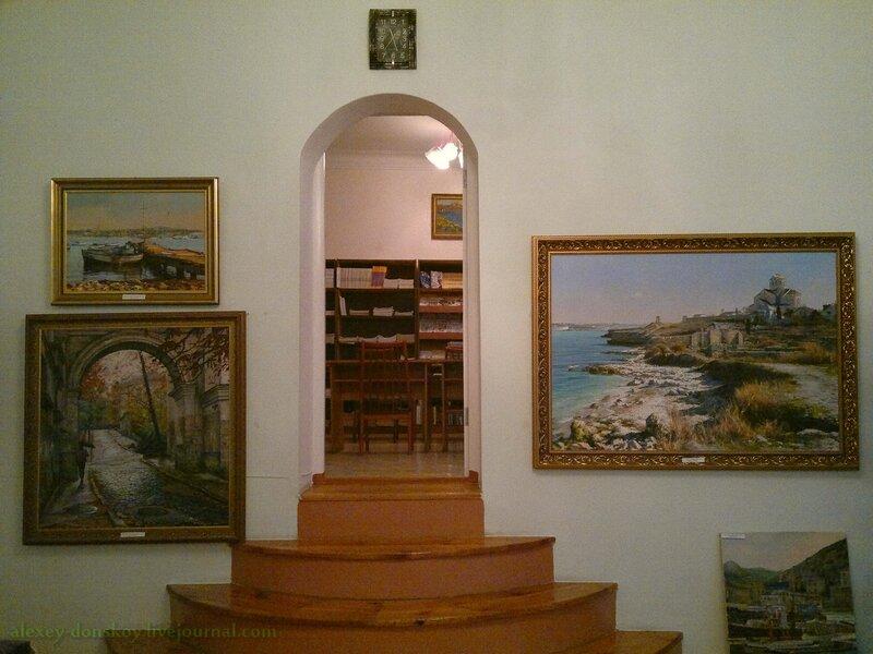 Выставка Владимира Преображенского (Севастополь)