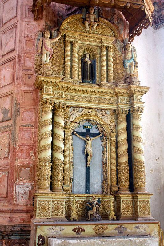 Церковь Св.Франциса Ассиссию Олд Гоа.ГОА
