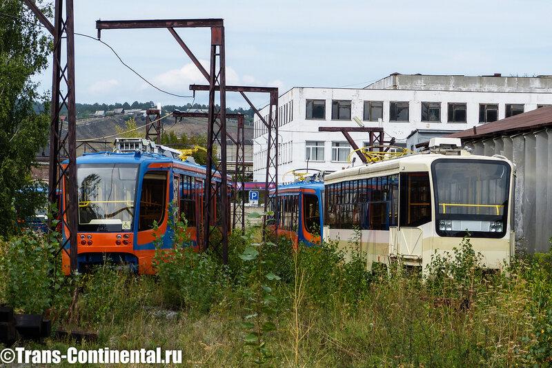 Забытый старший брат - трамвай серии 71-619