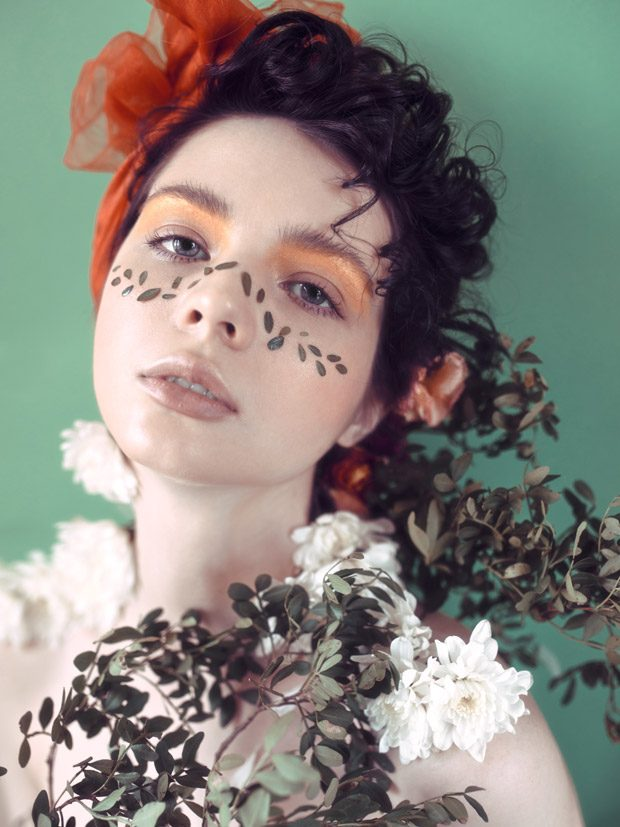 BEAUTY SCENE EXCLUSIVE: Guilty Flowers by Katya Warped