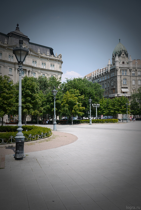 Улочки Будапешта. Снято Panasonic Lumix GF5