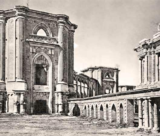 Царицыно. Руины дворца. Фото Александрова.