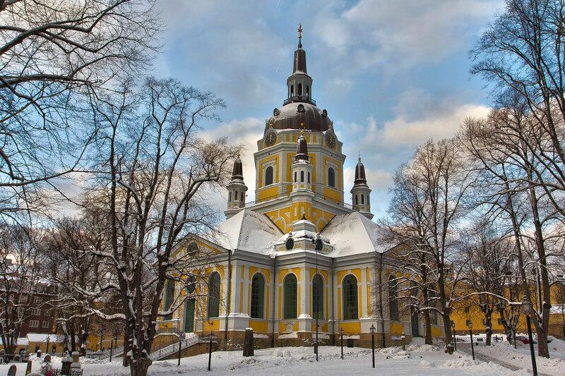 Церковь Катарина. Стокгольм