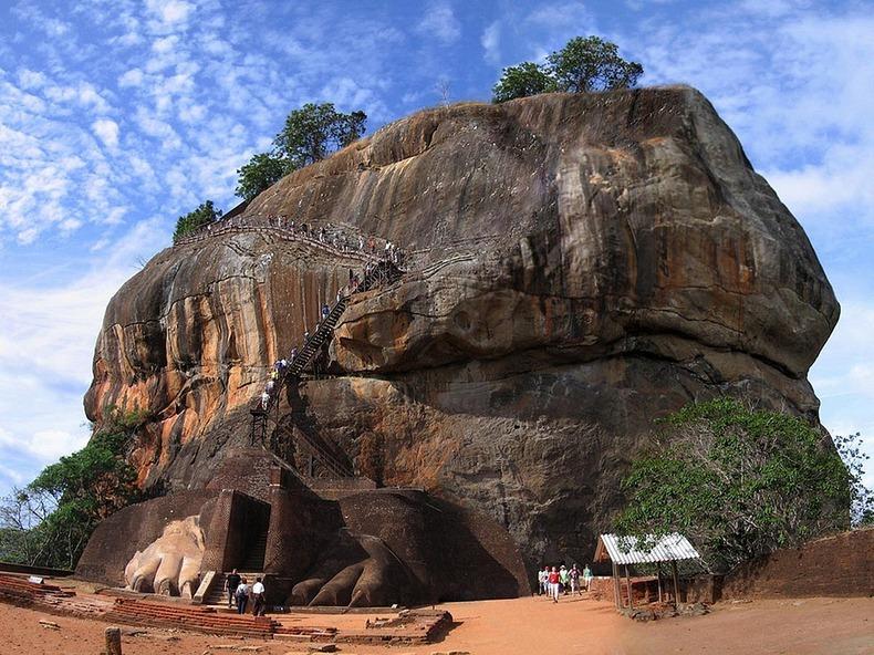 замок Сигирия, Шри-Ланка