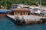 Пристань Анадолу Кавагы (конечный пункт тура)