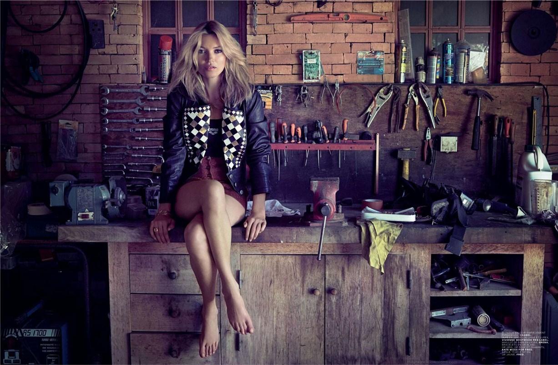 модель Кейт Мосс / Kate Moss