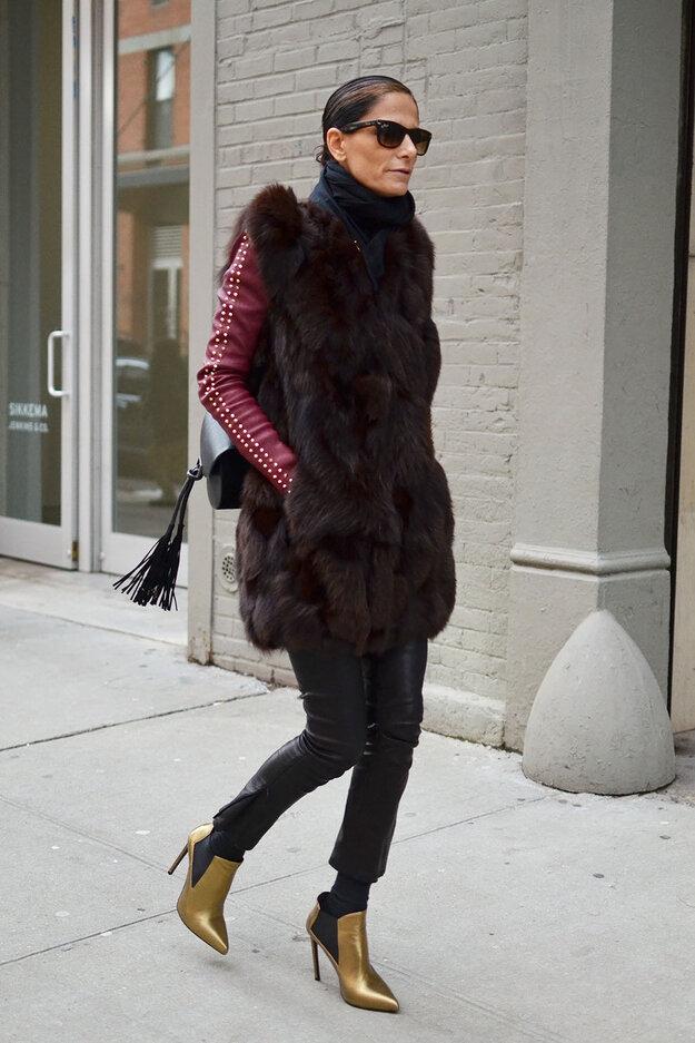 Наряды с Нью-Йоркской недели моды
