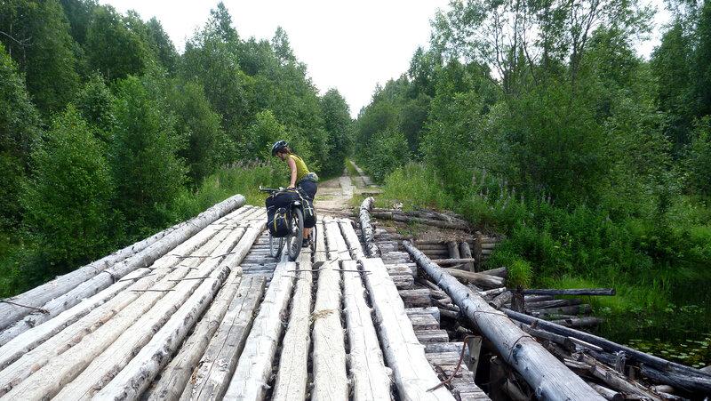 мост по дороге на Совзу