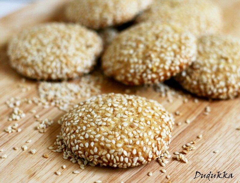 печенье с кунжутом баразех (Barazek)