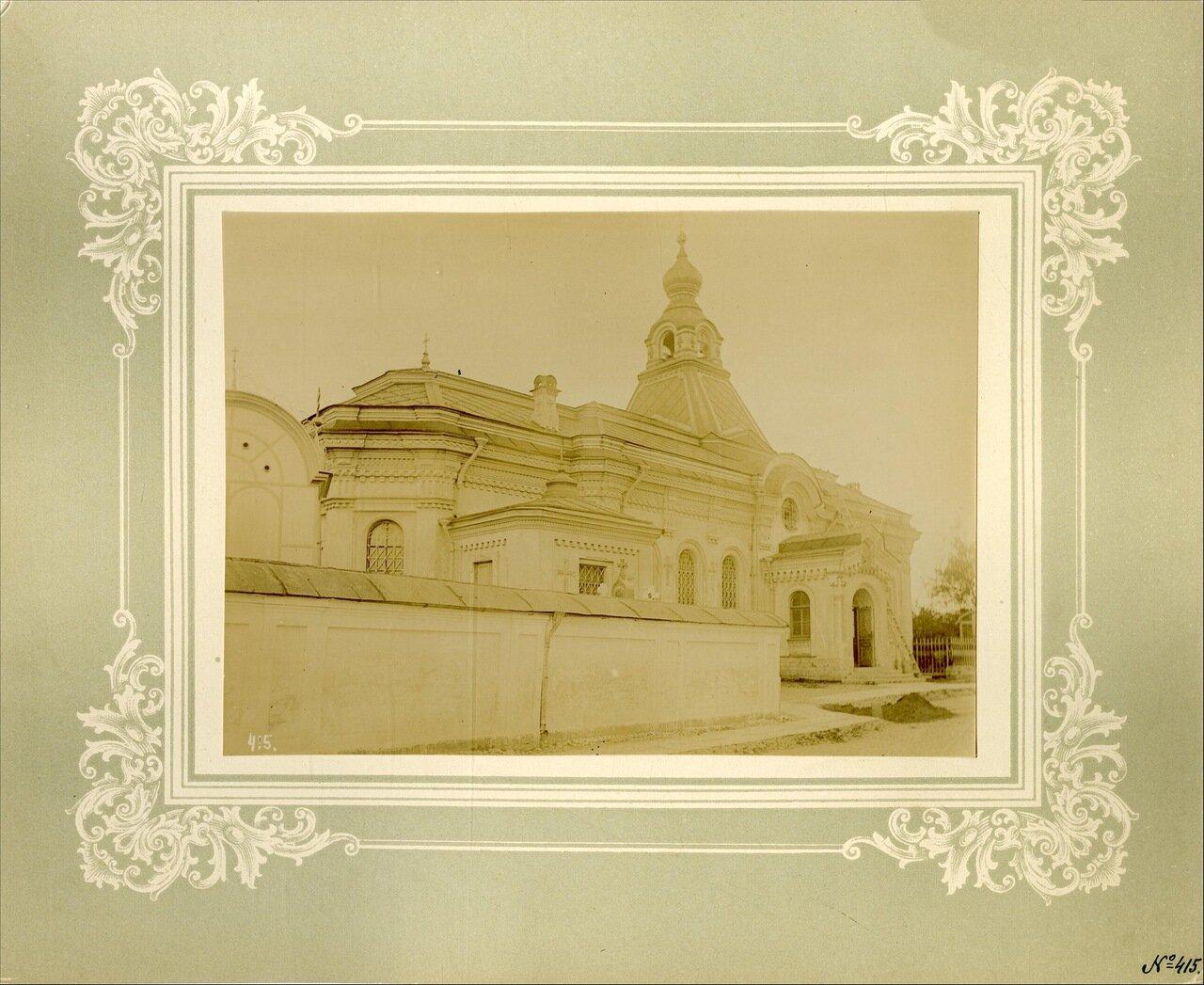 Церковь Тихвинской иконы Божией Матери на кладбище