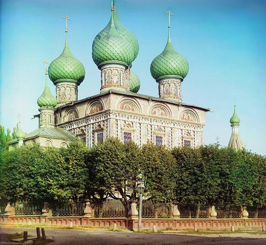 Церковь Воскресения на дебрях. 1910.
