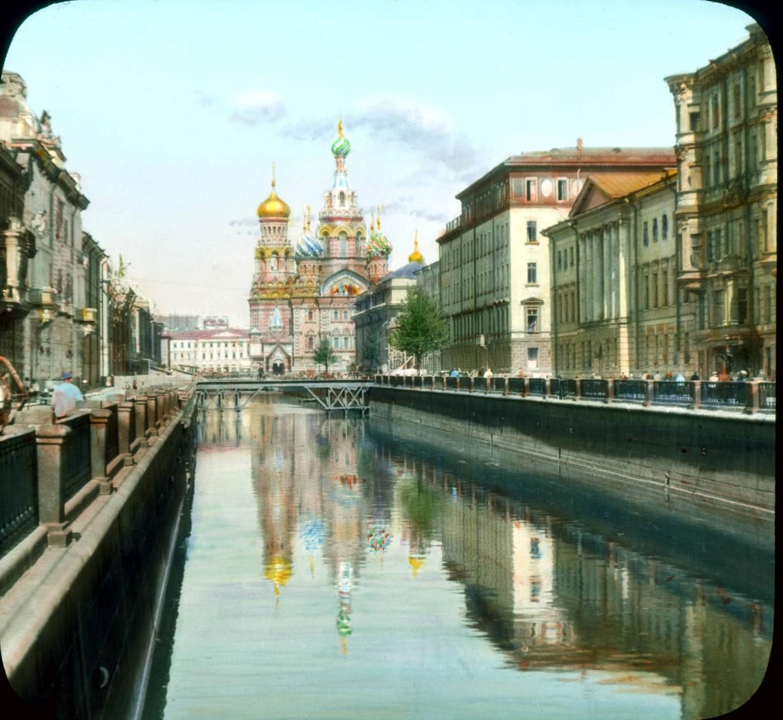 Санкт-Петербург. Храм Воскресения Христова (также известная как церковь Спаса на Крови)