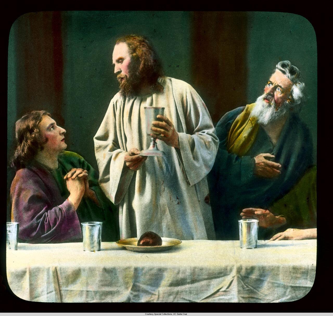 Обераммергау. Страсти Христовы. Тайняя Вечеря