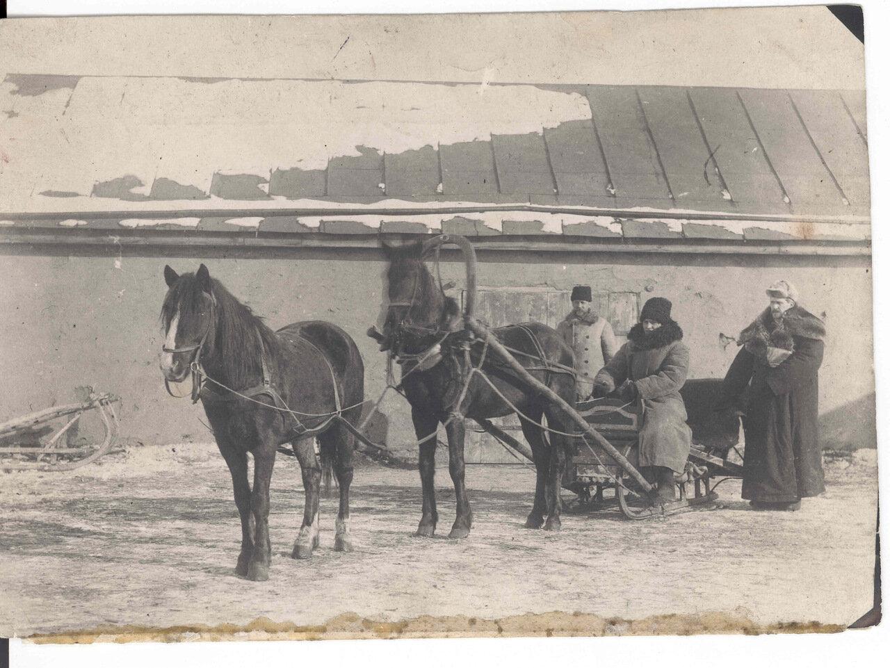 Инспекция сибирских меннонитских колоний
