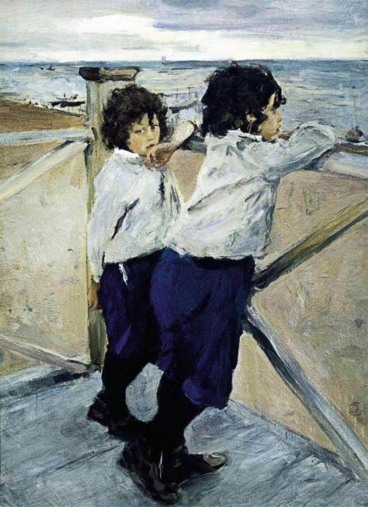 Дети. 1899. Серов Валентин Александрович. Русский музей