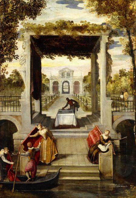 'Garden_in_a_Venician_Villa',_painting_by_Benedetto_Caliari,_1570-1580,_Academia_Carrara_(Bérgamo,_Italy).jpg