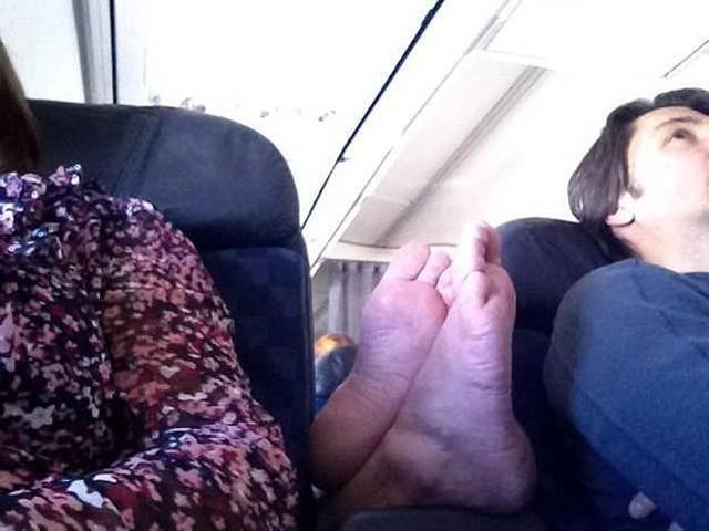 Отвратительные пассажиры самолетов на снимках бывшей стюардессы