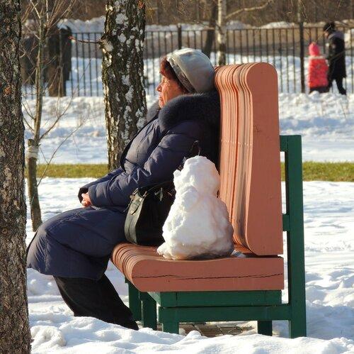 Хорошо сидим!