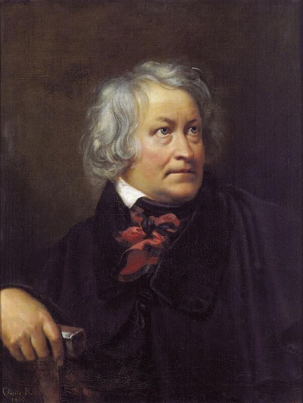 Портрет датского скульптора Бертеля Торвальдсена. 1831 Холст, масло. 79,5х65 ГРМ.jpg