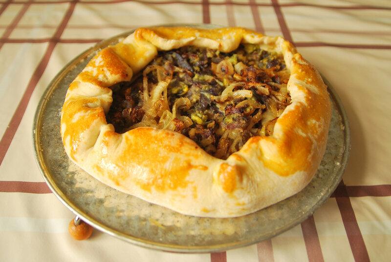 Пирог луковый постный рецепт