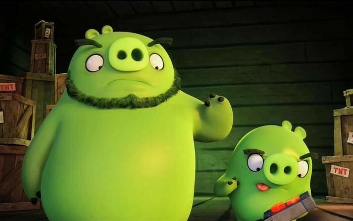 Жуткий трейлер мультфильма «Angry Birds в кино»