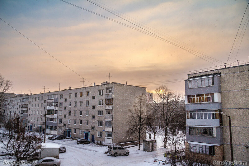 Зима в Ульяновске