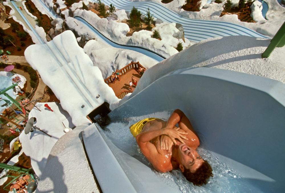 Парк Walt Disney World, Флорида. Высота горки— 36м.