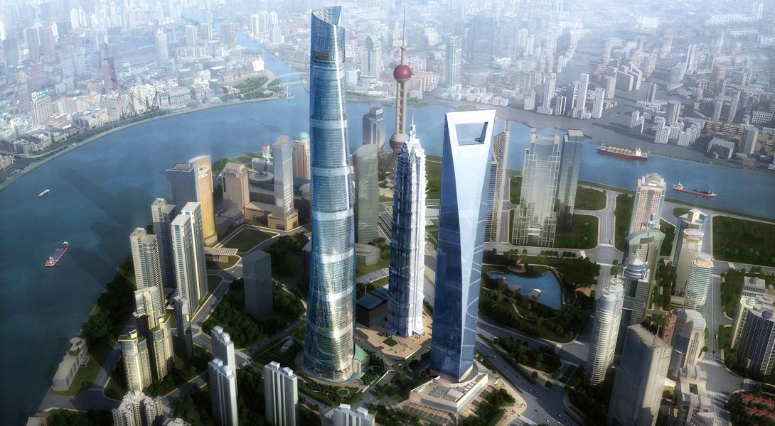 Согласно проекту высота здания составила 634 метра, общая площадь — 380 тысяч квадратных метров.3 а