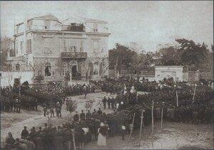 При подписании мирного договора Сан-Стефано, 3 марта 1878