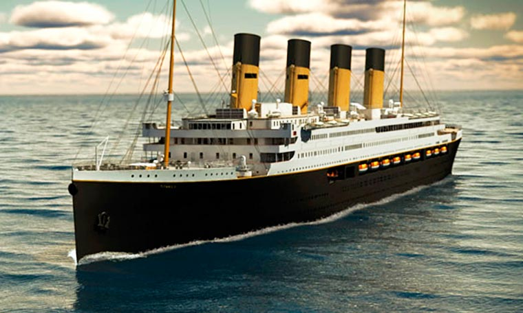 Titanic II - This exact replica of the Titanic will sail in 2018