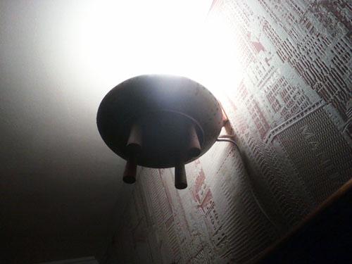 Светильник летающая тарелка