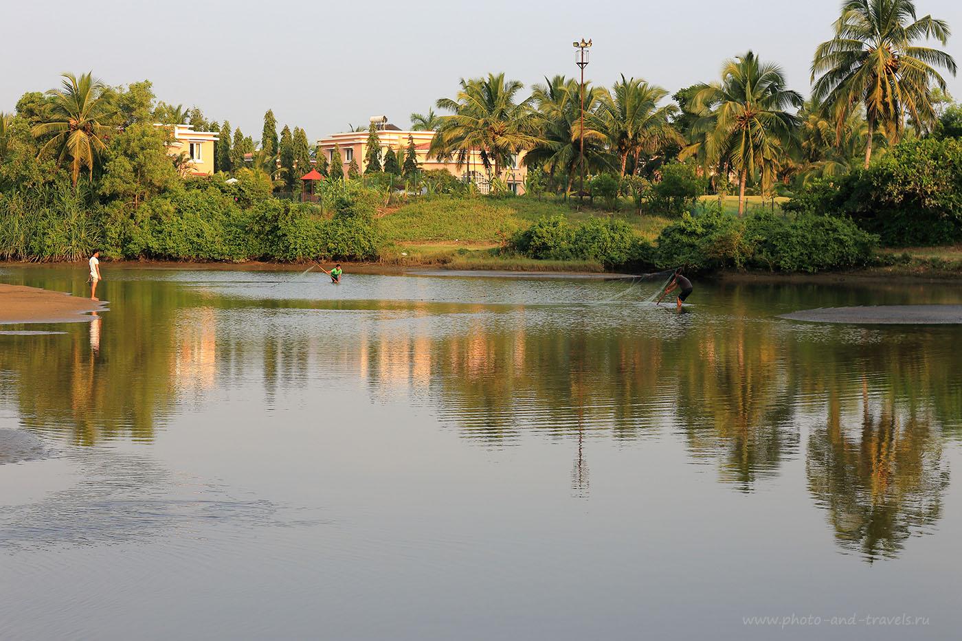 30. Рыбаки. Отзывы туристов об отдыхе на Южном Гоа в Индии. (24-70, 1/125, -1eV, f9, 70mm, ISO 100)