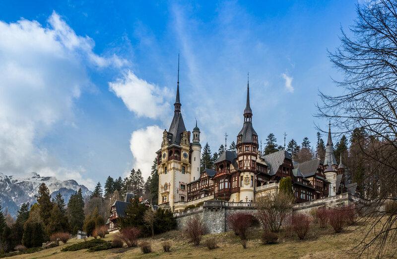 Трансильвания: короткие заметки о замках, городах и укрепленных церквях.