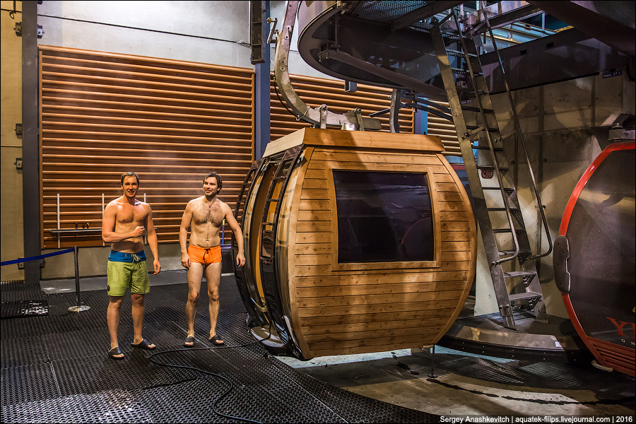Sauna gondola / Сауна в гондоле