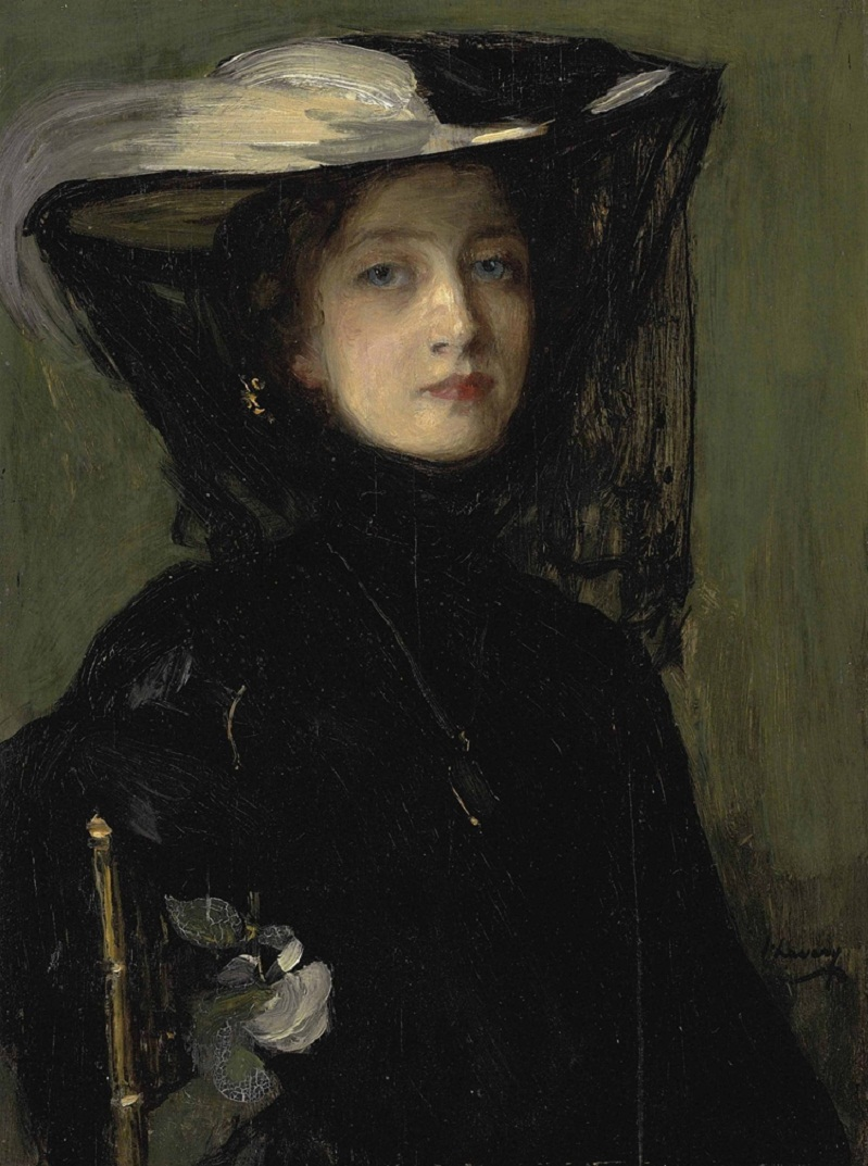 Sir John Lavery, R.A., R.H.A., R.S.A. (1856-1941) Mary in Black.jpg