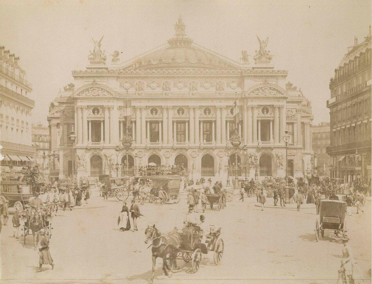 1880-е. Опера Гарнье