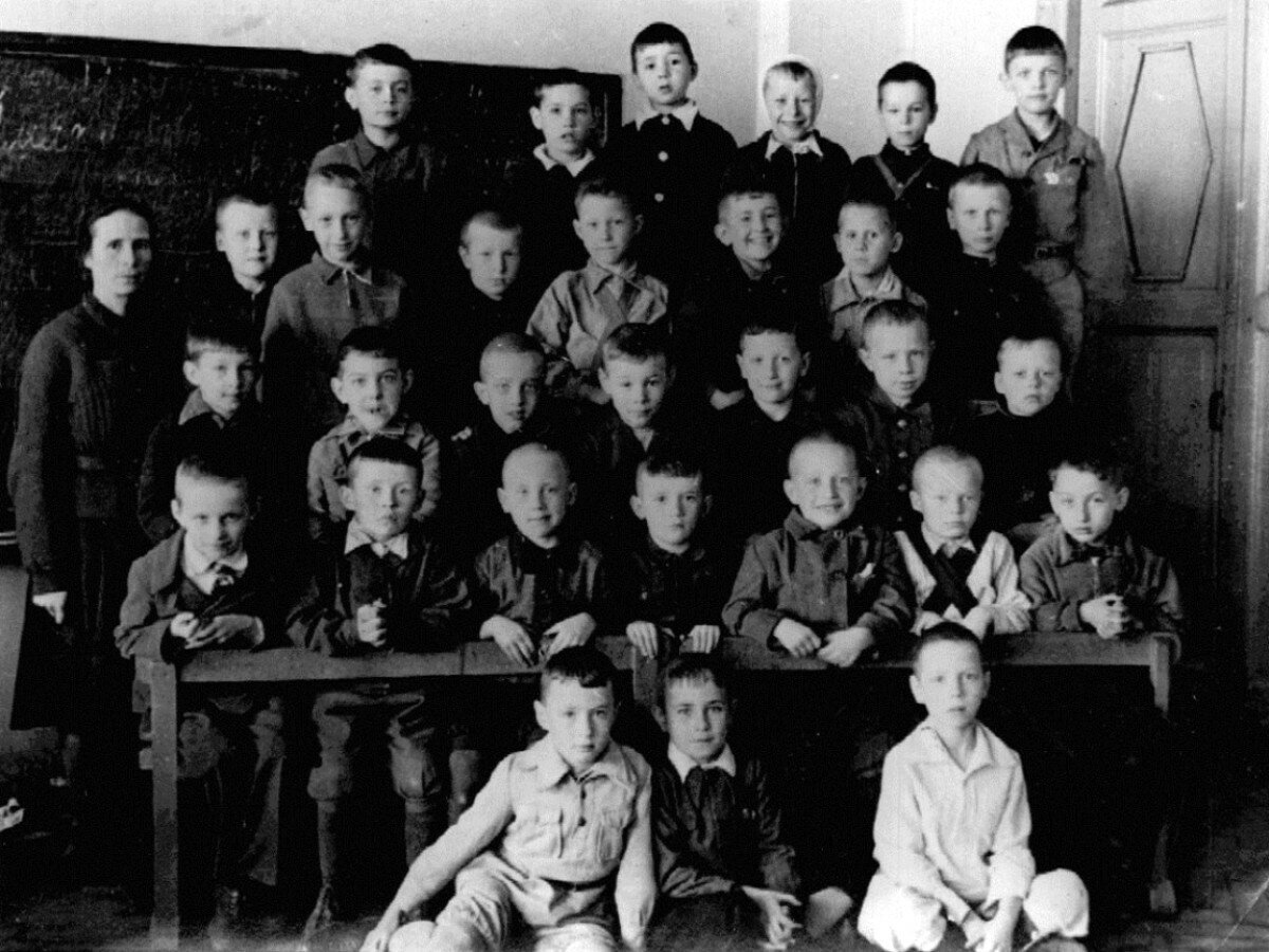 1946. 2«б» класс школы №73 Щербаковского района г.Москвы