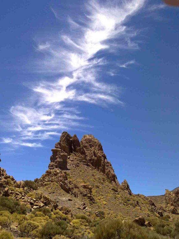 Константин Шульга, Тенерифе, горы 2