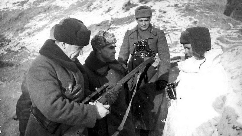 советские снайперы, Сталинградская битва, сталинградская наука, битва за Сталинград, маршал Чуйков