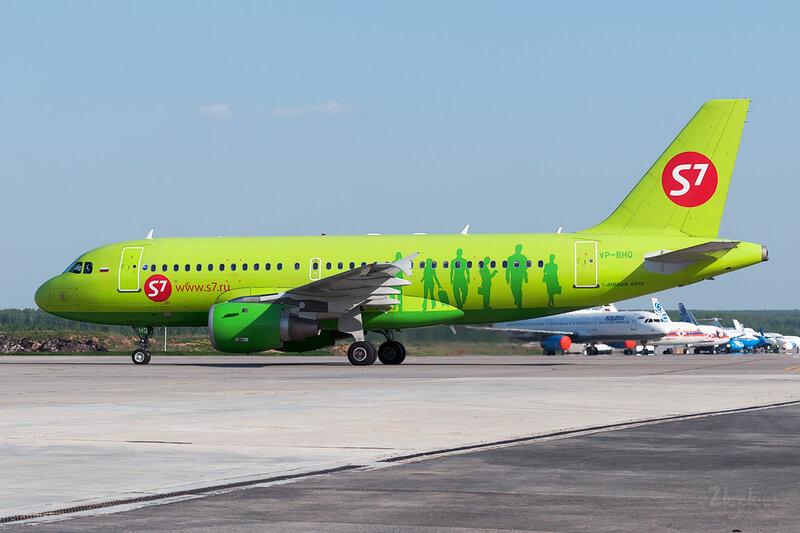 Airbus A319-114 (VP-BHQ) S7 DSC0321