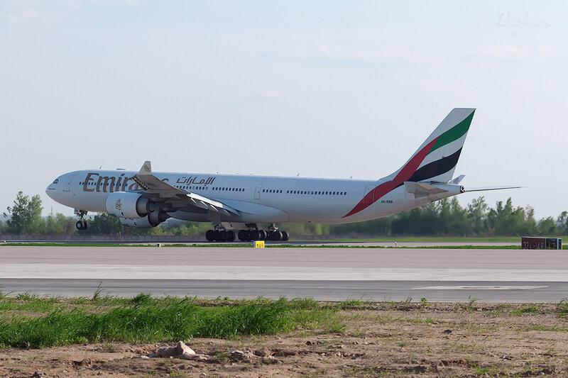 Airbus A340-541 (A6-ERB) Emirates DSC0379