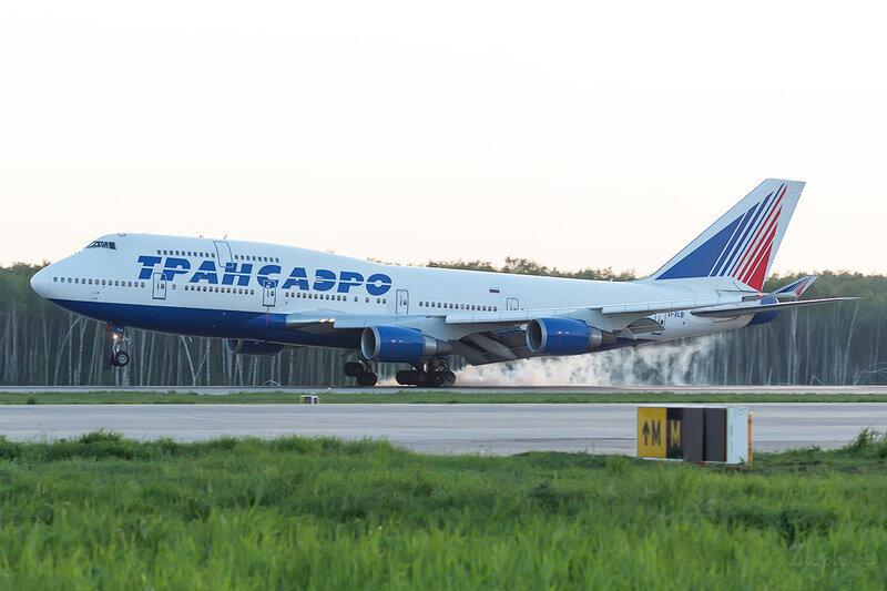 Boeing 747-446 (EI-XLB) Трансаэро DSC0710