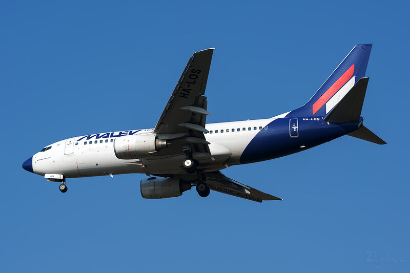 Boeing 737-7Q8 (HA-LOS) Malev DSC6624